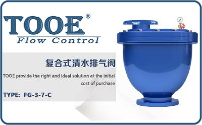 进口复合式清水排气阀