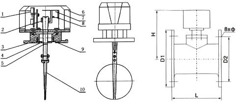 此电信号可送到电控箱,也可用于启动消防水泵的控制开关.